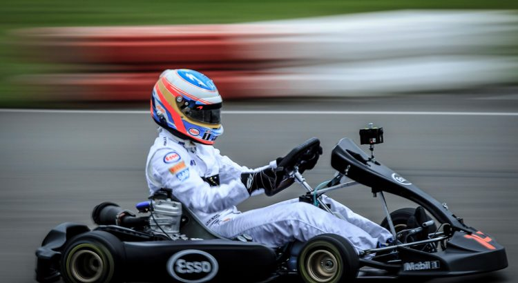Esso Fuel Your Senses 2016 Karting Race. Feranando Alonso Karting Track, Asturias, Spain.
