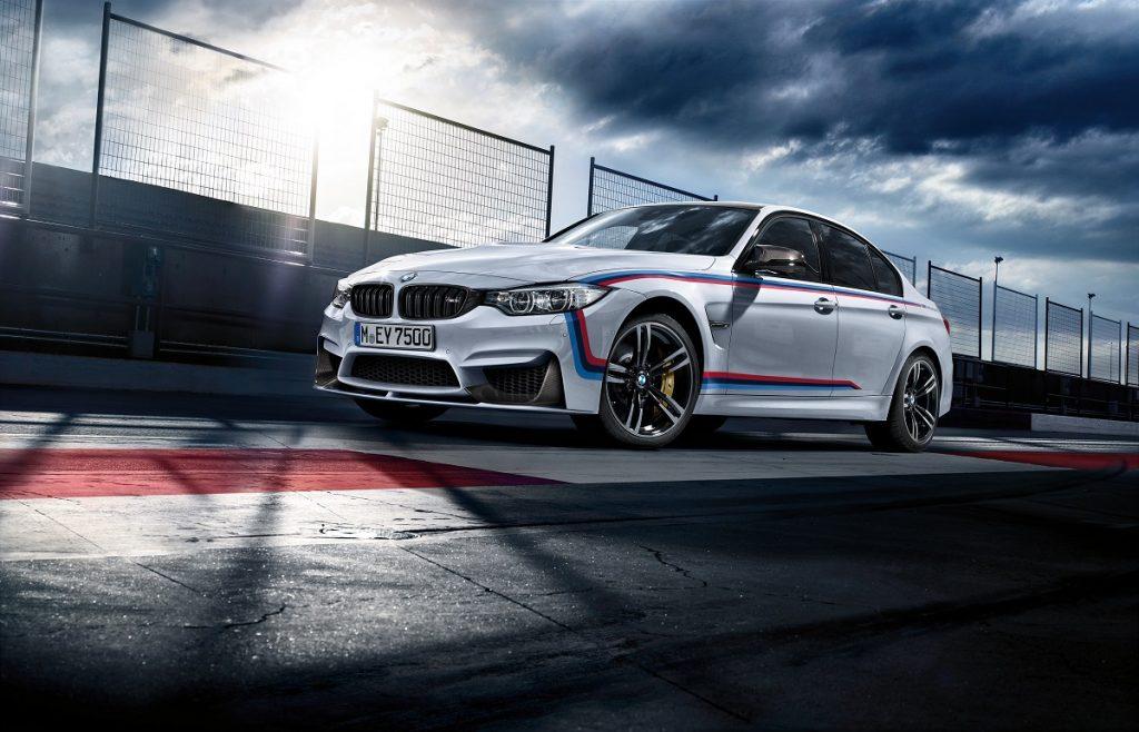 Der Tourenwagen für die Straße: Der BMW M3 mit M Performance Parts