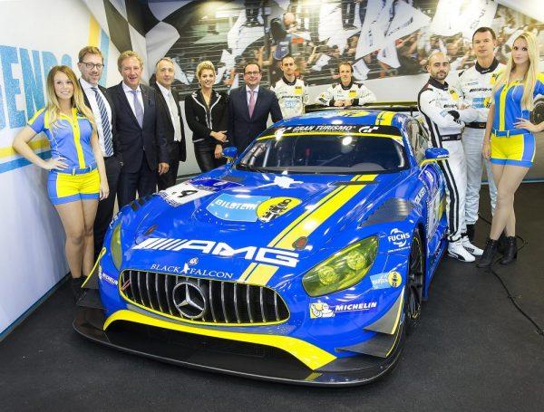 Echte Rennwagen und Rennautos hat Bilstein natürlich auch am Start.
