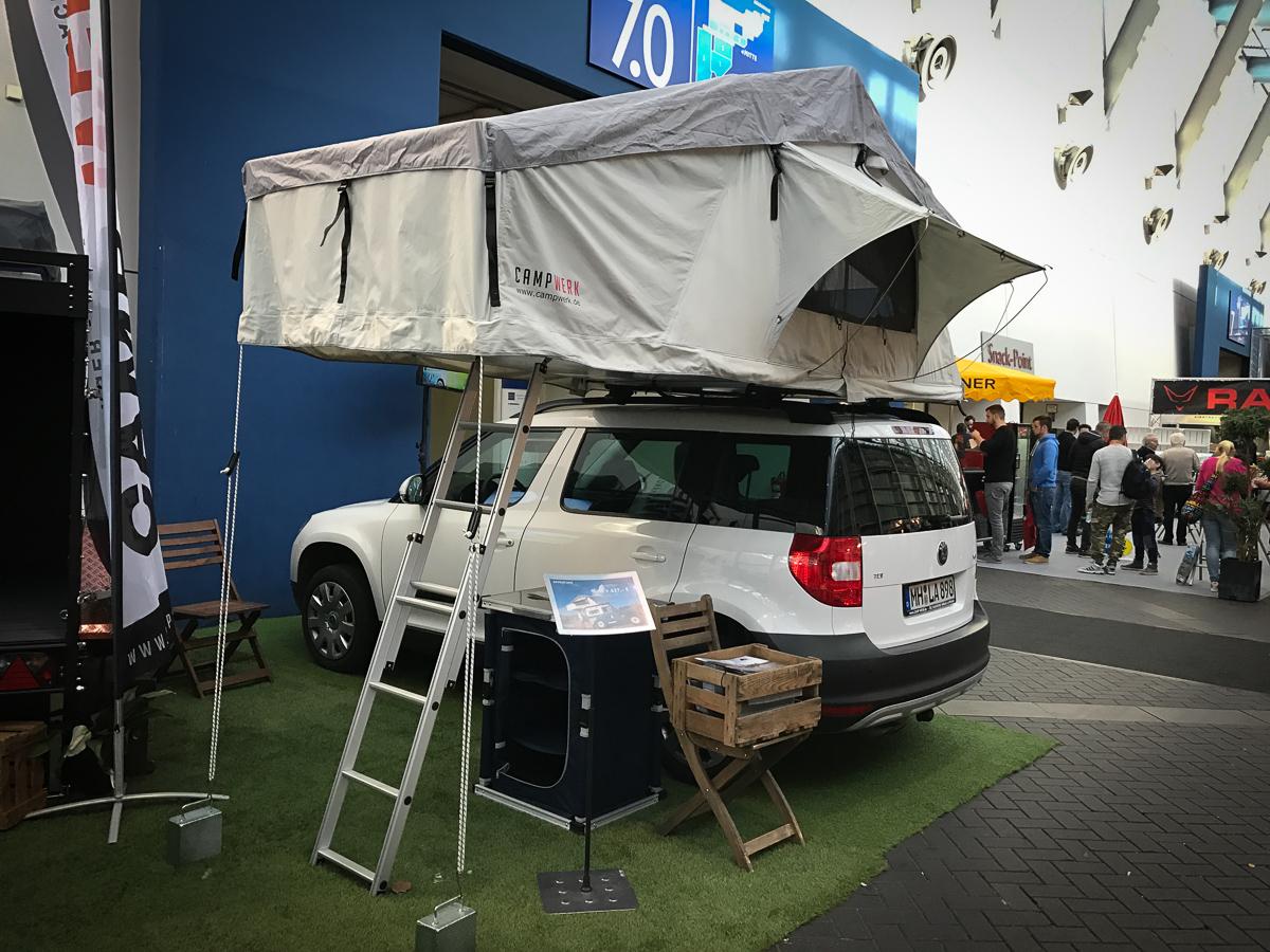 campwerk auf der essen motorshow 2016 rad. Black Bedroom Furniture Sets. Home Design Ideas