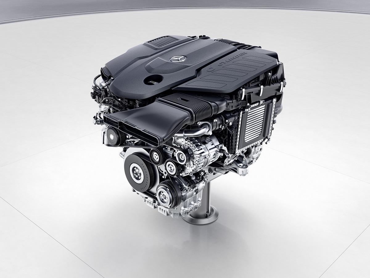 Mercedes-Benz Sechszylinder-Dieselmotor, OM656 // Mercedes-Benz six-cylinder diesel engine, OM656