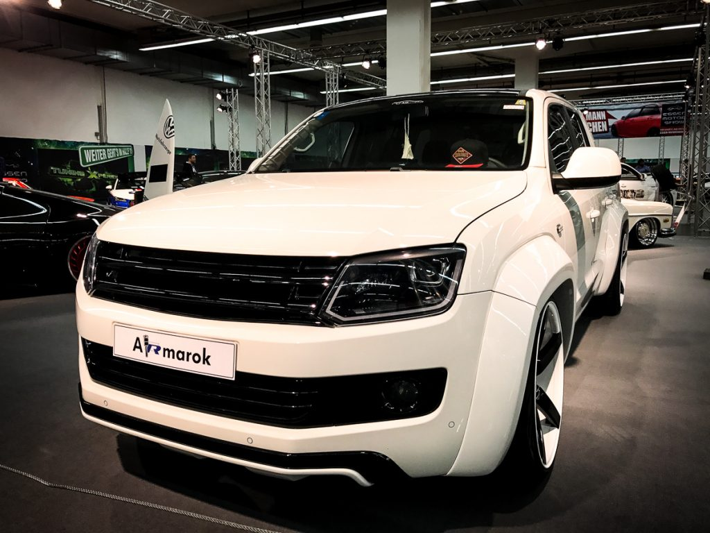 vw amarok tuning essen motorshow 2016 rad. Black Bedroom Furniture Sets. Home Design Ideas