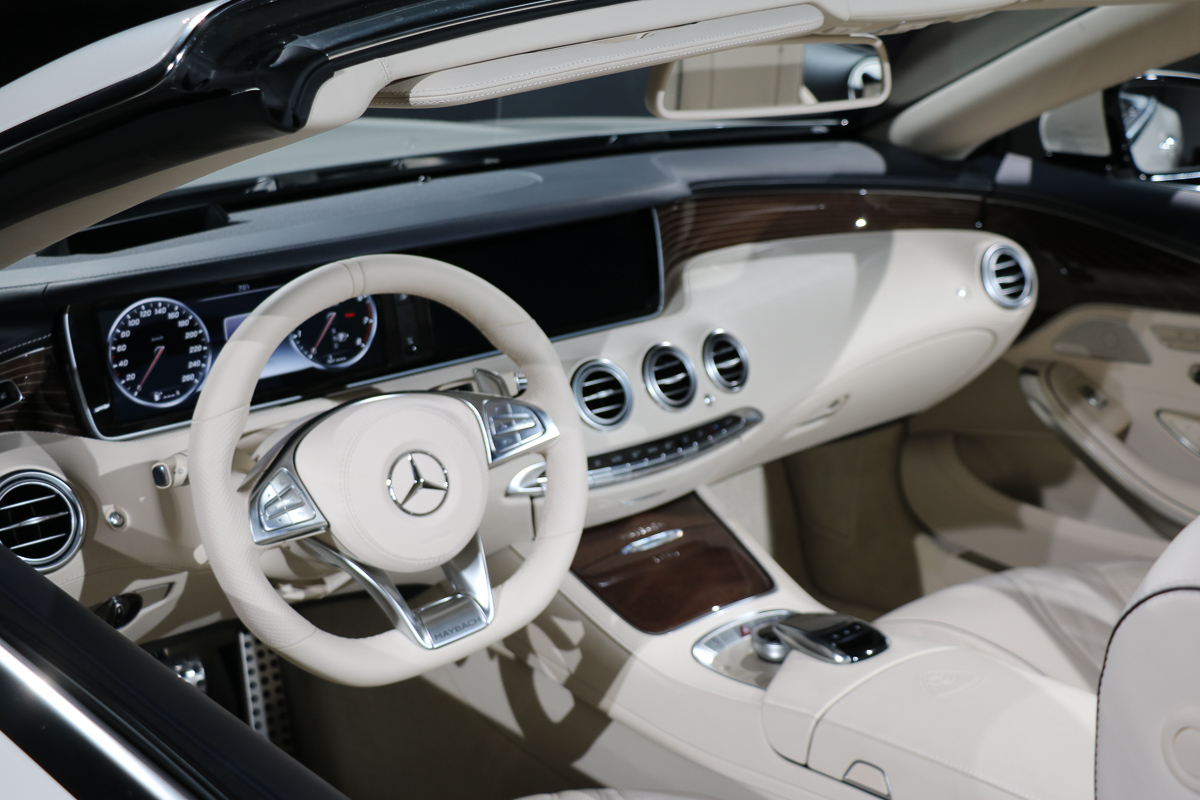 Mercedes maybach s650 cabriolet dekadenz auf top niveau for Mercedes s klasse interieur