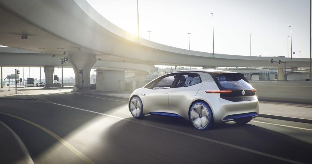 Der kompakte VW I.D. will vereint die Zukunft von VW in einem Auto