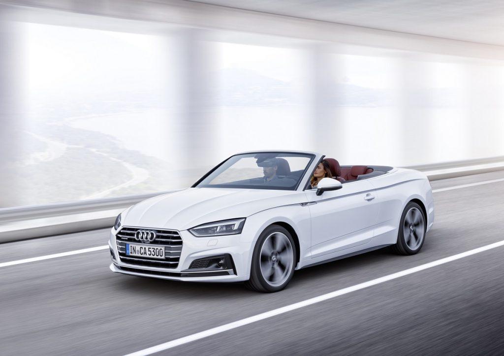 Seinem Vorgänger sehr ähnlich: Das neue Audi A5 Cabrio