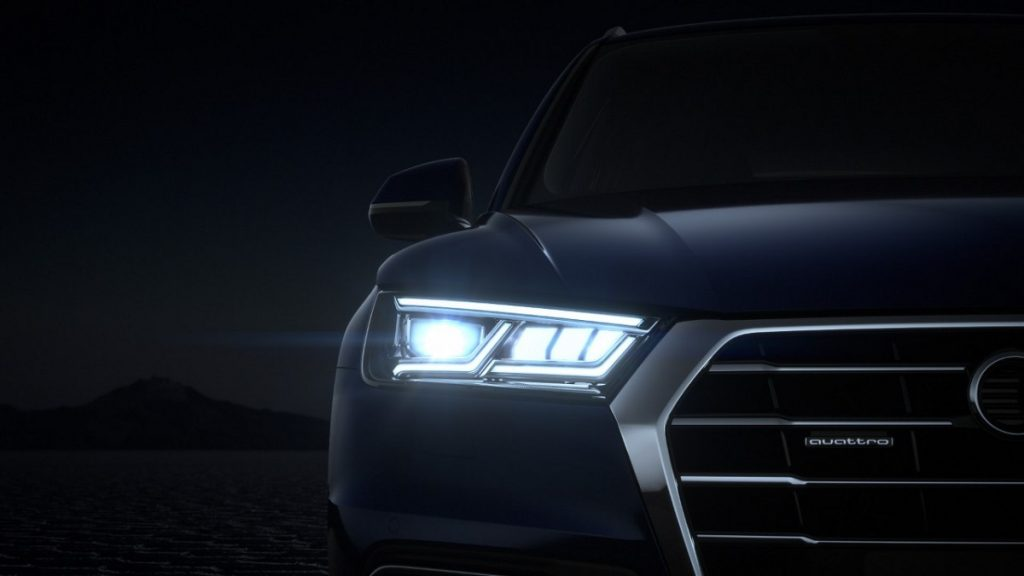 Der Audi Q5 bietet optional Matrix-LED-Scheinwerfer
