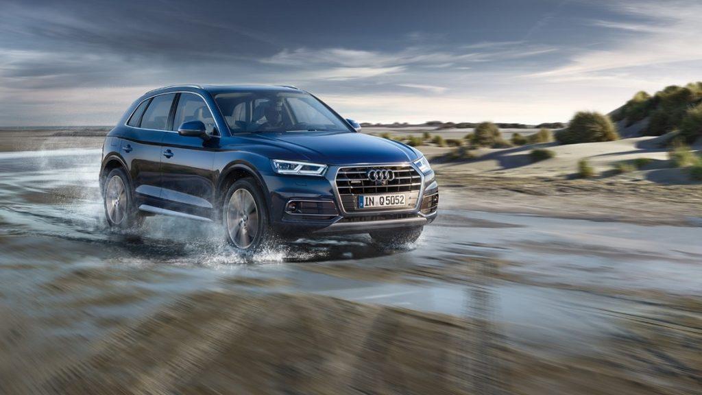 Über Stock und Stein: Der Audi Q5 ist mit quattro gut gerüstet