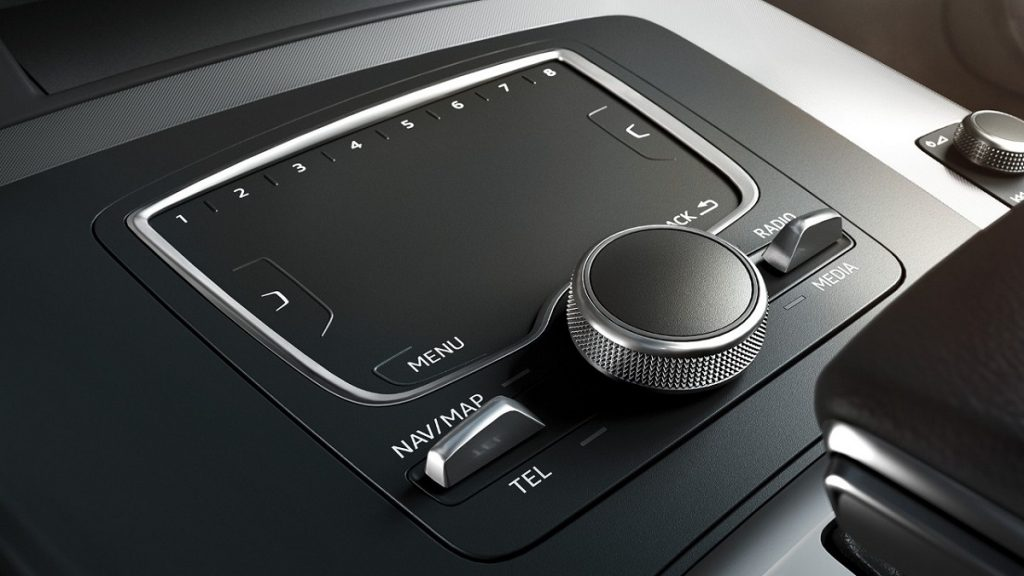 Das MMI touch ist dem Top-Navigationssystem vorbehalten