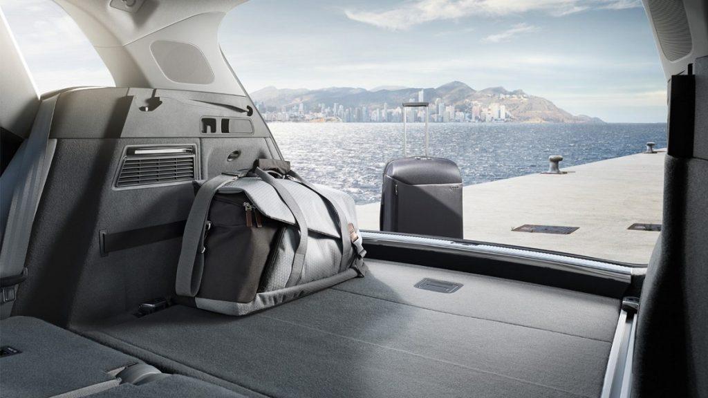 Dieses Gepäck stellt keine Herausforderung für den Audi Q5 dar