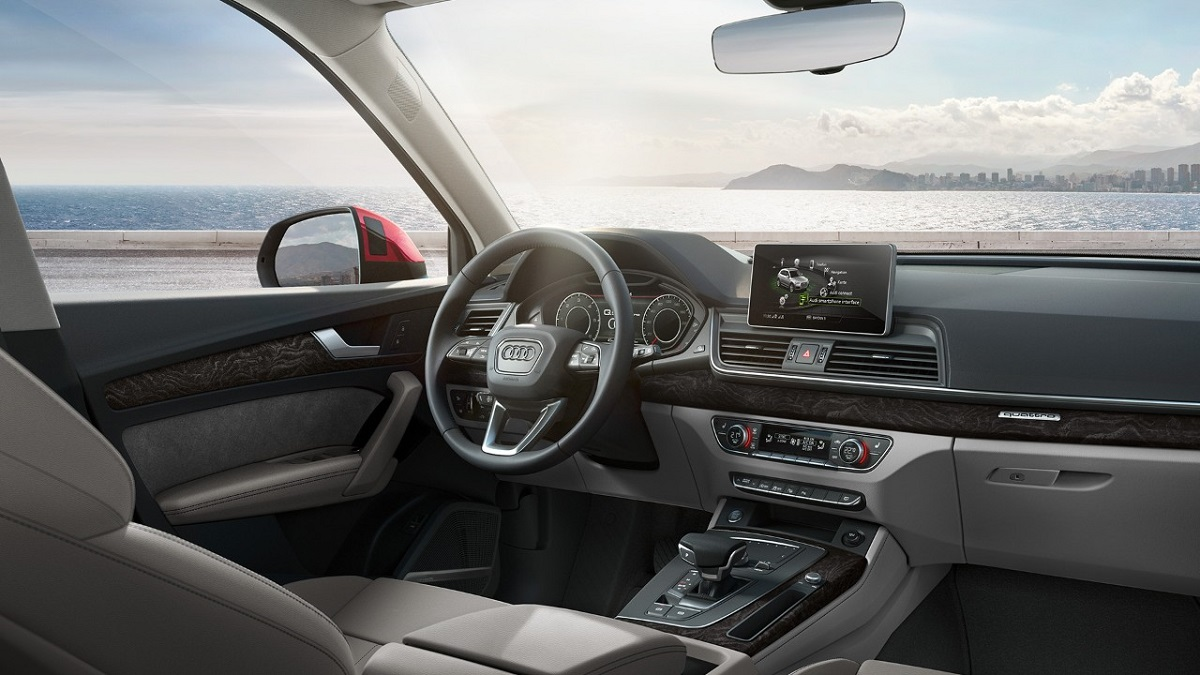 Kleiner Wahlhebel, große Wirkung: Die S tronic im Audi Q5