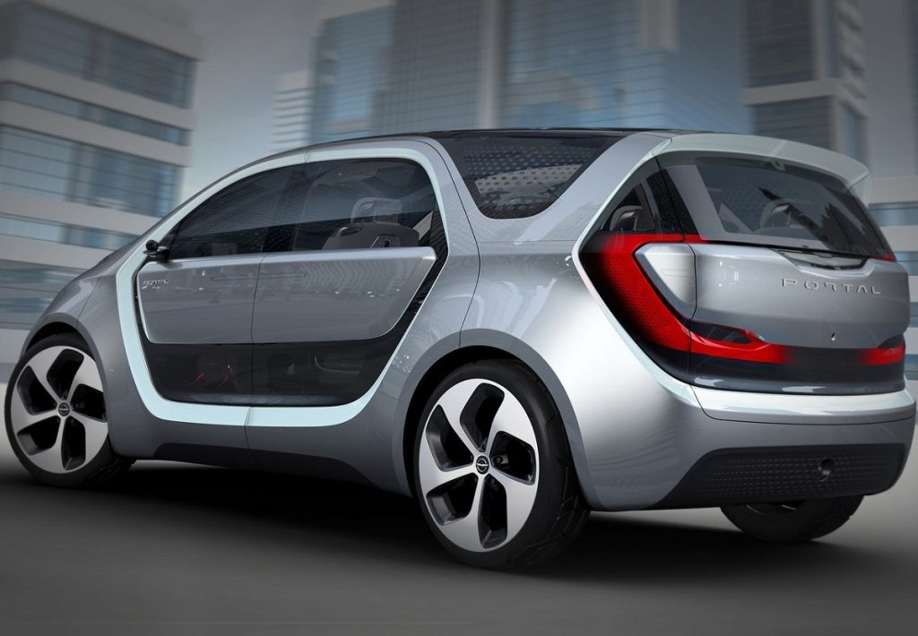 Kommt ohne B-Säule: Der Chrysler Portal