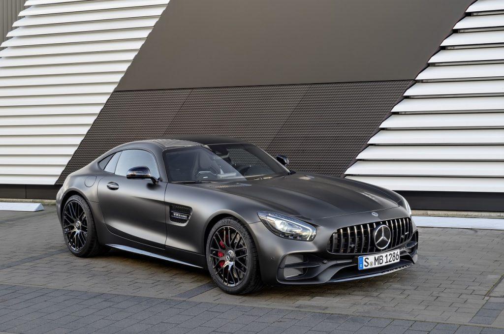 Das Sondermodell Edition 50 markiert den Einstand des Mercedes-AMG GT C