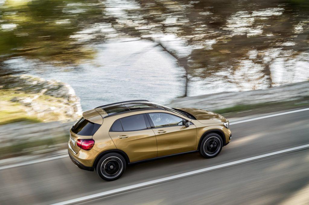 Das Facelift des Mercedes-Benz CLA viel dezent aus