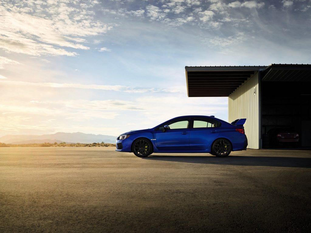 Nur echt mit Spoiler: Die Formensprache des Subaru WRX STI ist klassisch