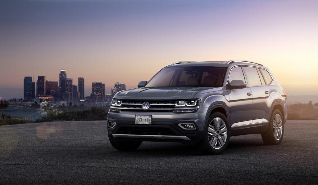 Dem Tiguan wie aus dem Gesicht geschnitten: Das US-Modell VW Atlas