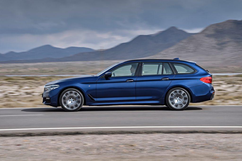 Die gestreckten Proportionen stehen dem BMW 5er Touring bestens
