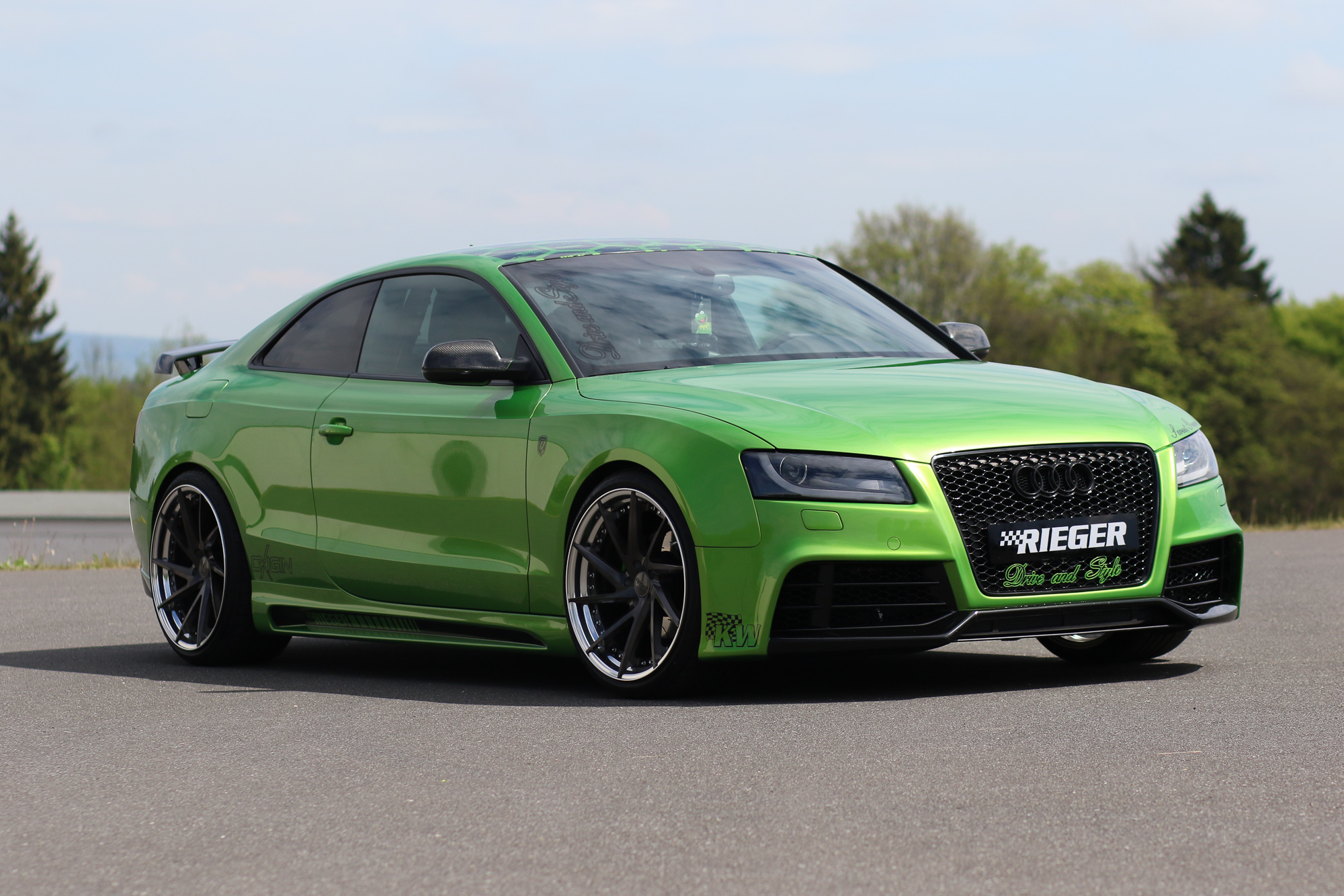 Audi A5 Coup 233 Tuning Ausfahrttv Tuning Folge 08 Rad