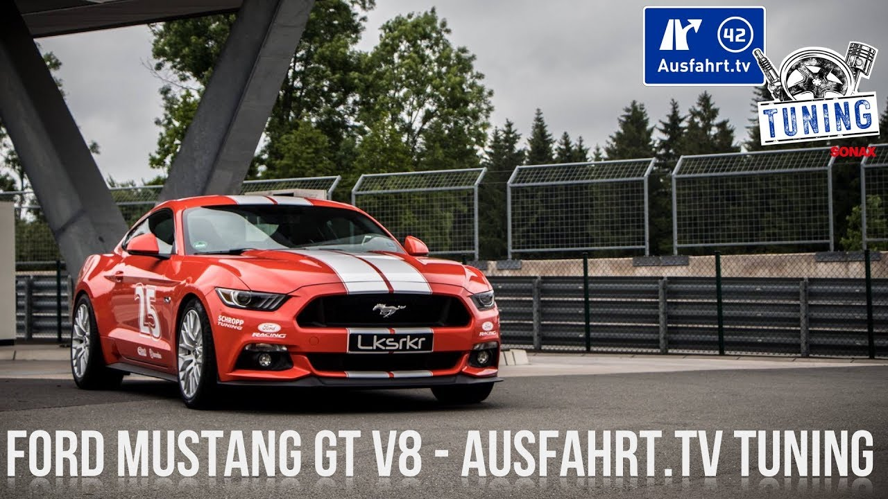 ausfahrt tv tuning folge 12 ford mustang gt v8 tuning. Black Bedroom Furniture Sets. Home Design Ideas