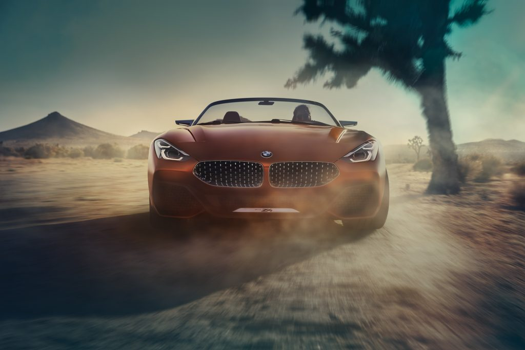 2018 BMW Z4 Concept Fotos Pebble Beach 2017