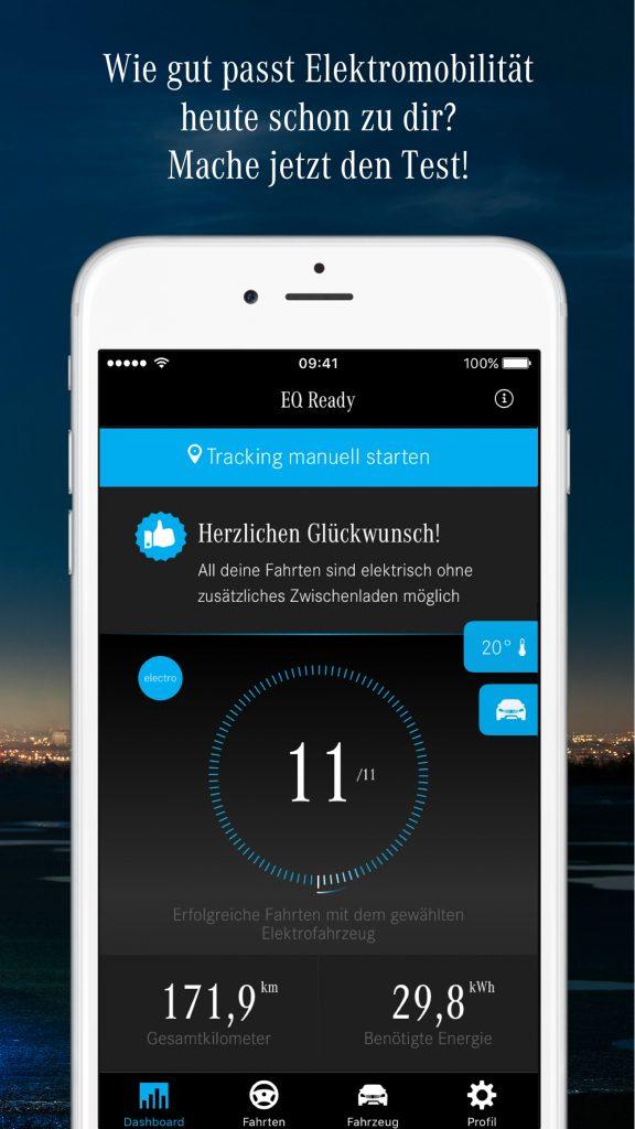 EQ Ready App - Bist du reif für die Elektromobilität?