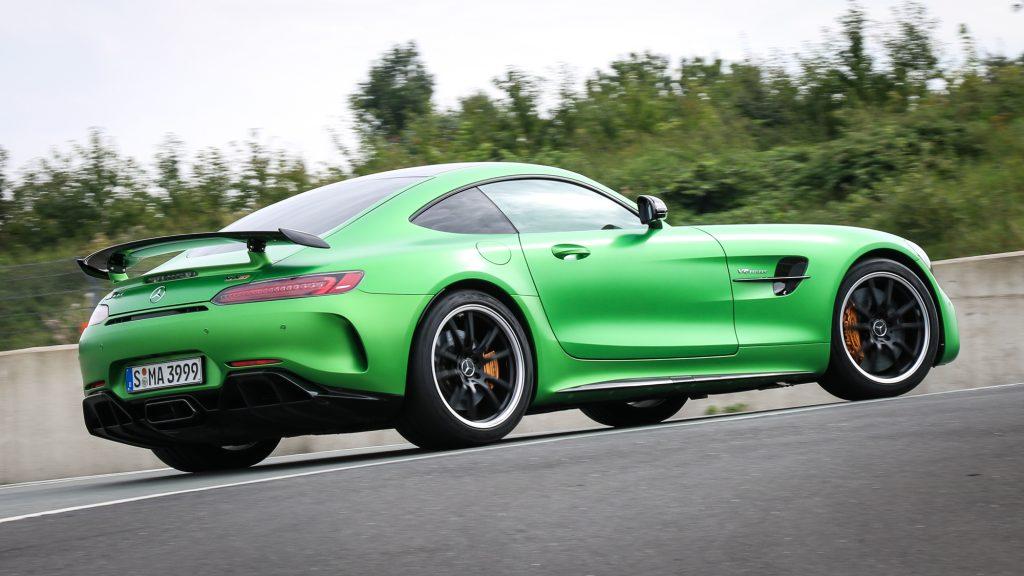 Mercedes-AMG GT R - Der Spoiler macht Sinn!