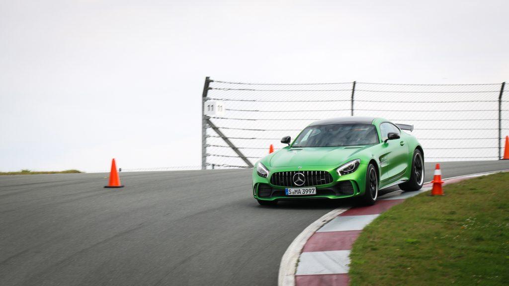 Mercedes-AMG GT R - Ich würde bei der Farbe auch grün wählen!