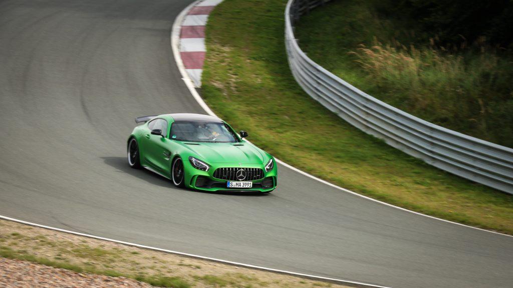 Mercedes-AMG GT R in der Mausefalle - Bilster Berg