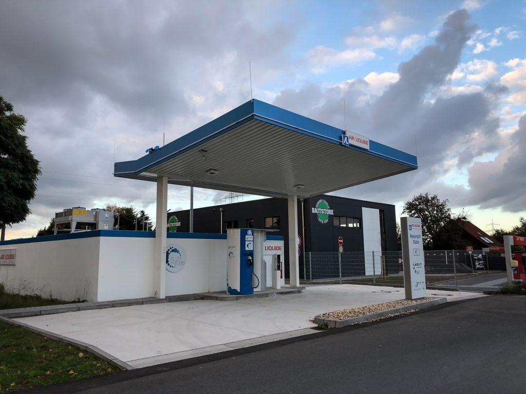 Wasserstoff-Tankstelle Kamen