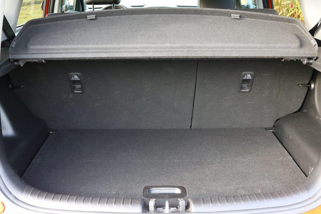 Kia Soul Fahrbericht - Kofferraum