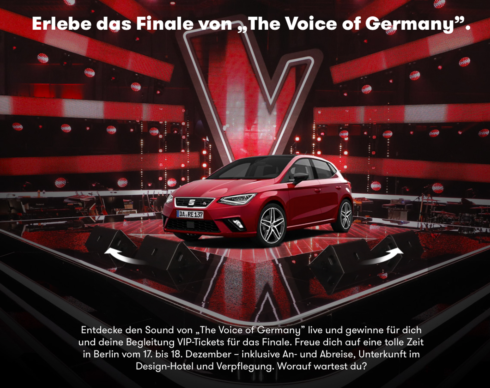karten the voice of germany