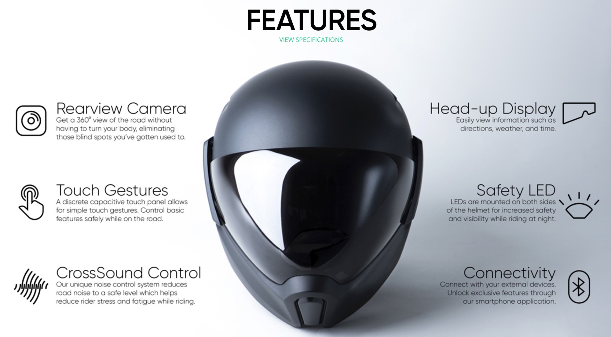 smarter motorradhelm mit head up display street hawk. Black Bedroom Furniture Sets. Home Design Ideas