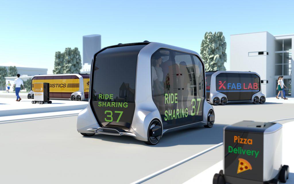 CES 2018: Toyota e-Palette