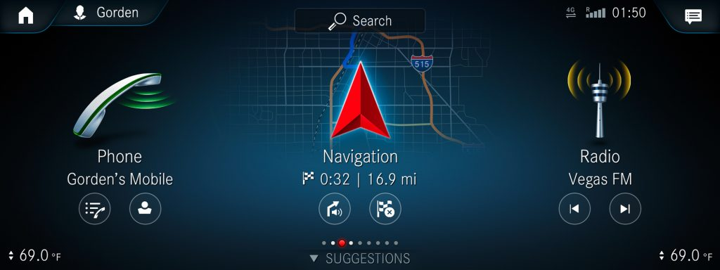 MBUX Navigiation