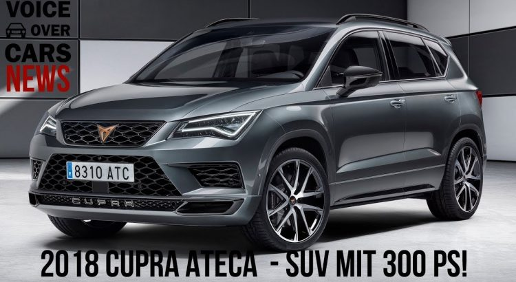2018 cupra ateca das seat suv mit 300 ps rad. Black Bedroom Furniture Sets. Home Design Ideas