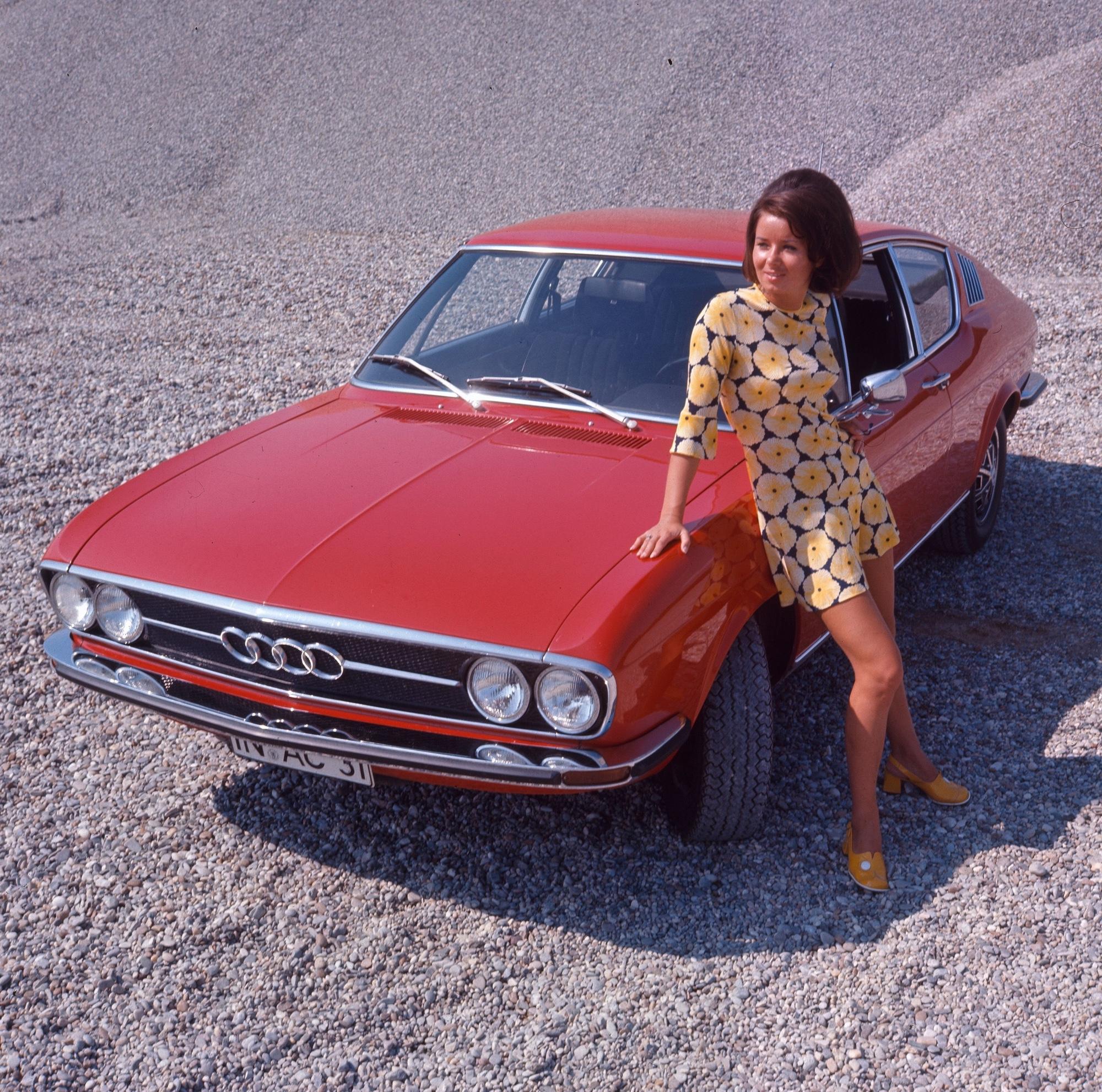 Automobile Hitparade 1971: Audi 100 Coupé S   rad-ab.com