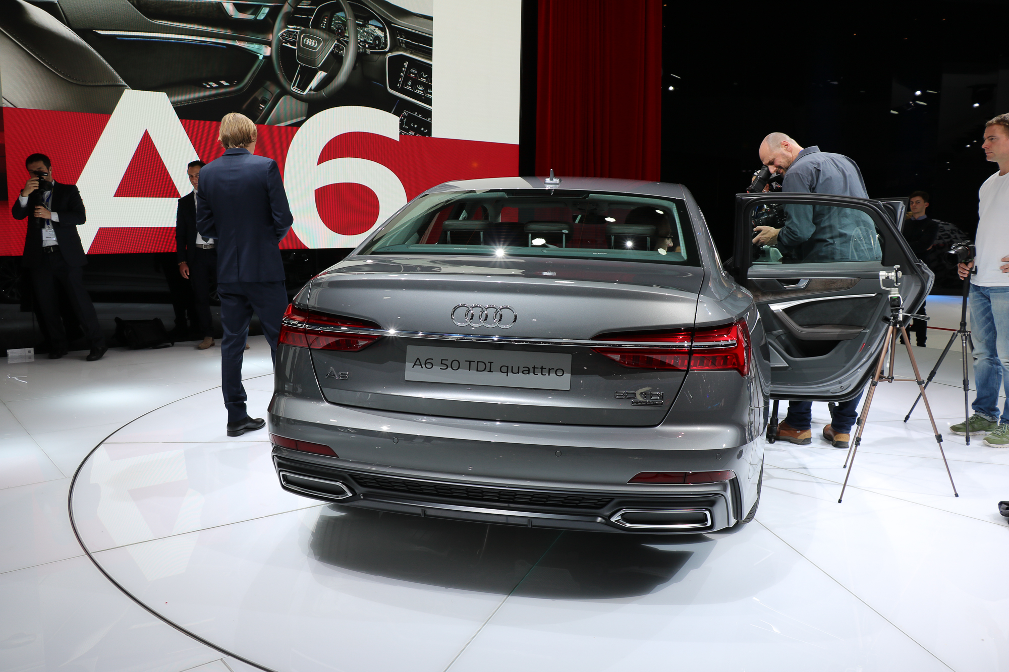 2018 Audi A6 Rad Ab Com