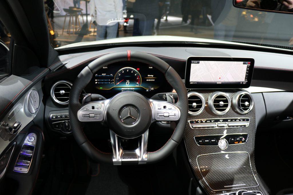 Mercedes-AMG C43 4MATIC Innenraum