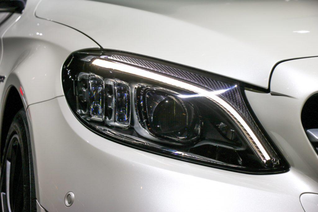 Mercedes-AMG C43 4MATIC neue LED Multibeam Scheinwerfer