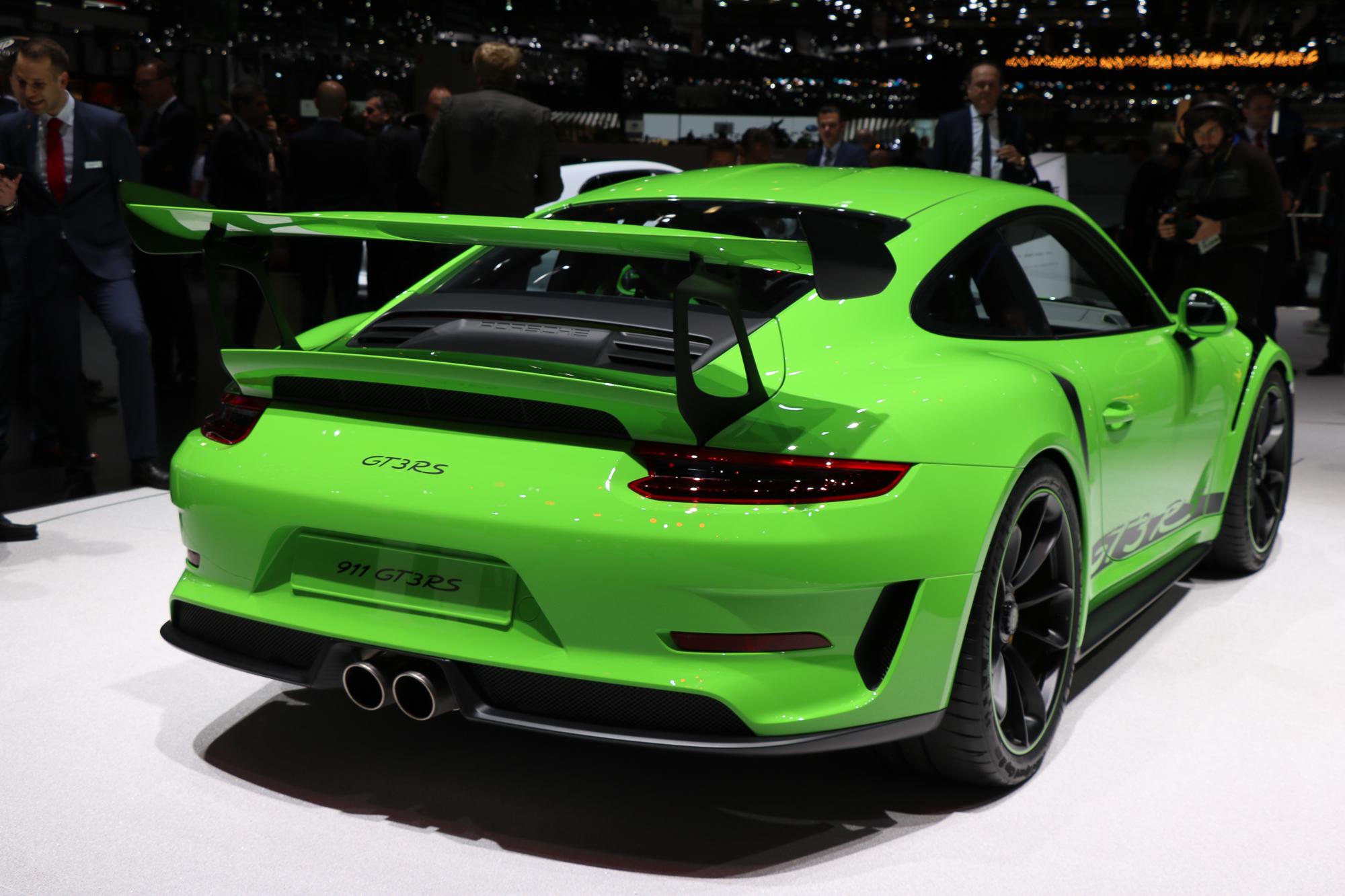 2018 Porsche 911 Gt3 Rs Rad Ab Com
