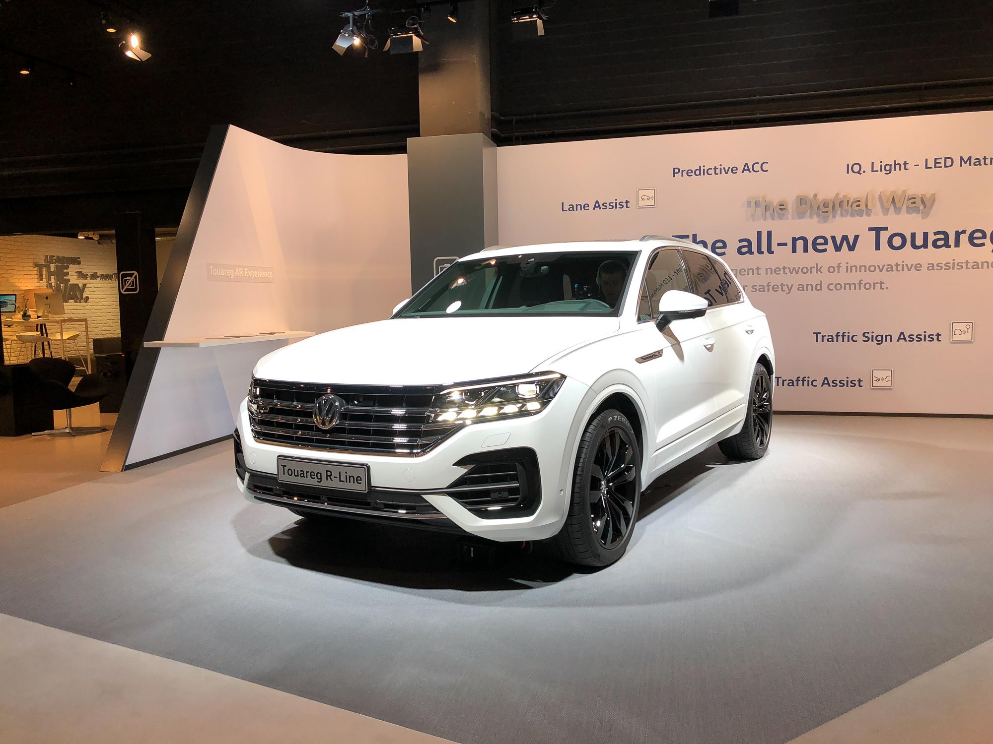 2018 VW Touareg - Weltpremiere - Sitzprobe - technische Daten | rad ...