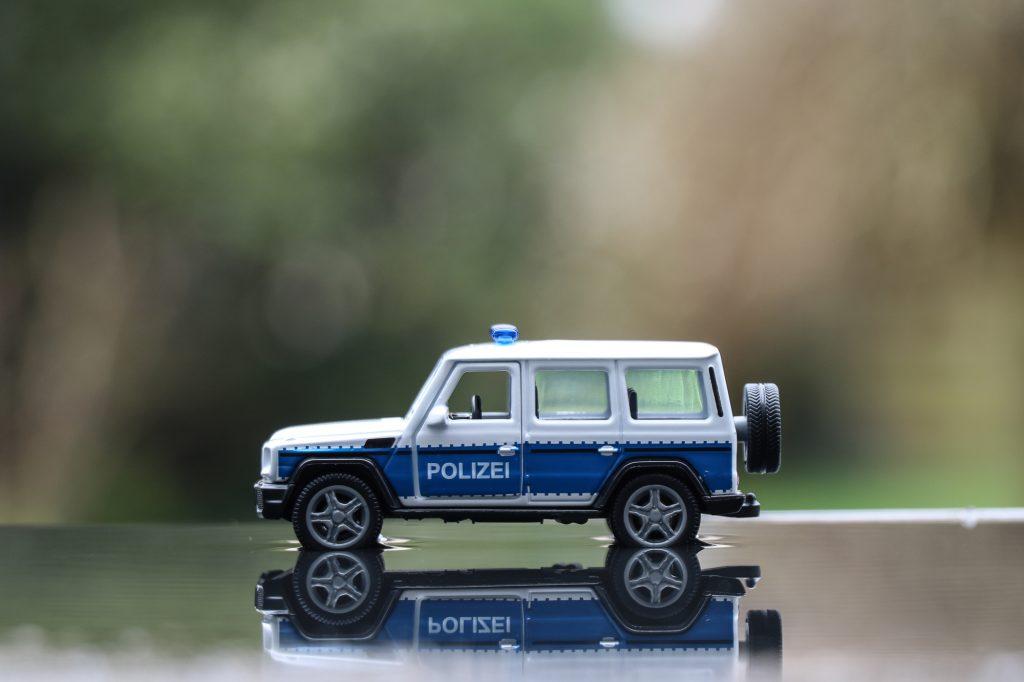 SIKU Polizei G65 AMG