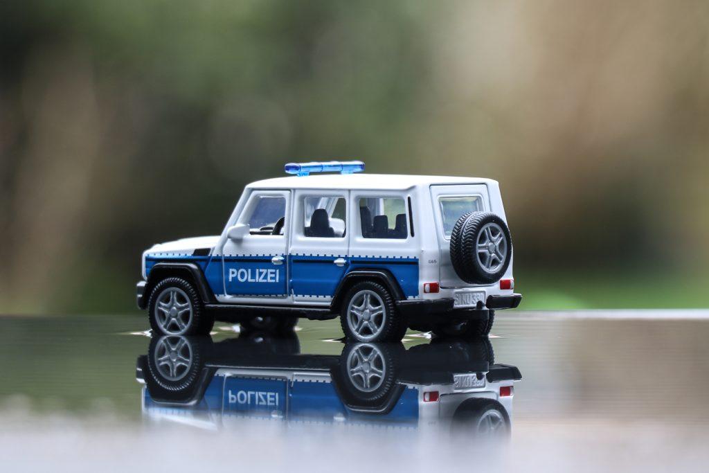 Mercedes-AMG G65 Polizei G-Klasse SIKU 2308
