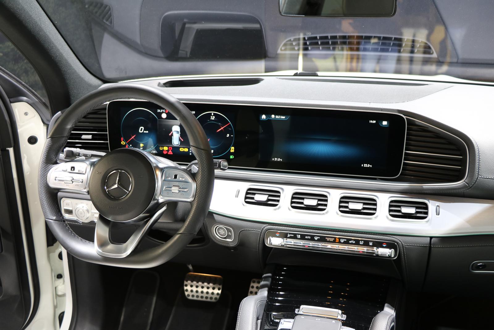 2019 Mercedes Benz Gle Sitzprobe Im Neuen Mercedes Gle