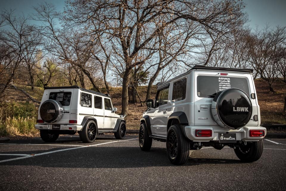 Suzuki Jimny Tuning - Cobra, DAMD, Libertywalk und H&R ...