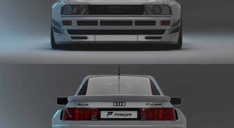 Moderner Traumfänger! Audi Coupé im PRIOR Design!